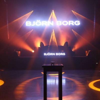 Bjorn Borg | decorbouw Custom Event