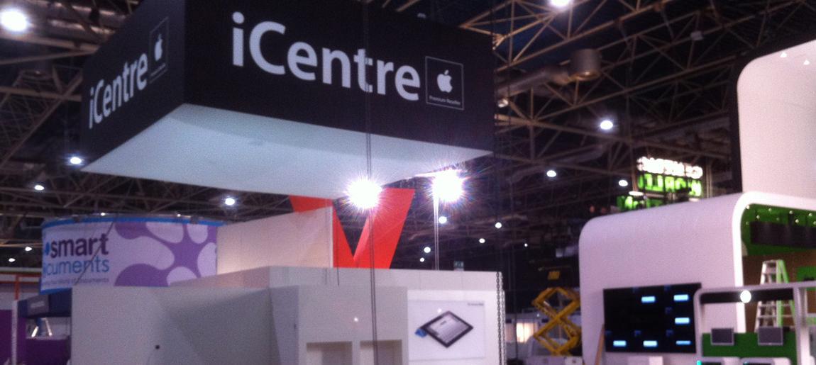 iCentre standbouw Custom Event