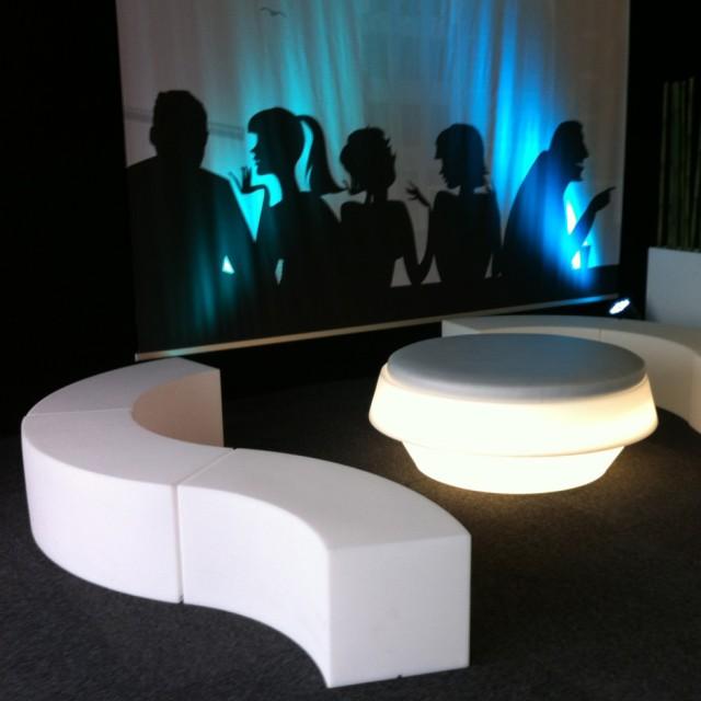Custom Event decorbouw Vereniging van Kleurslagers