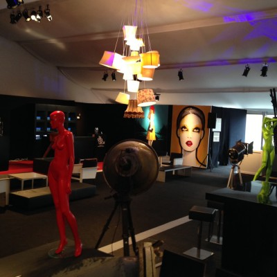 AIFW decorbouw Custom Event