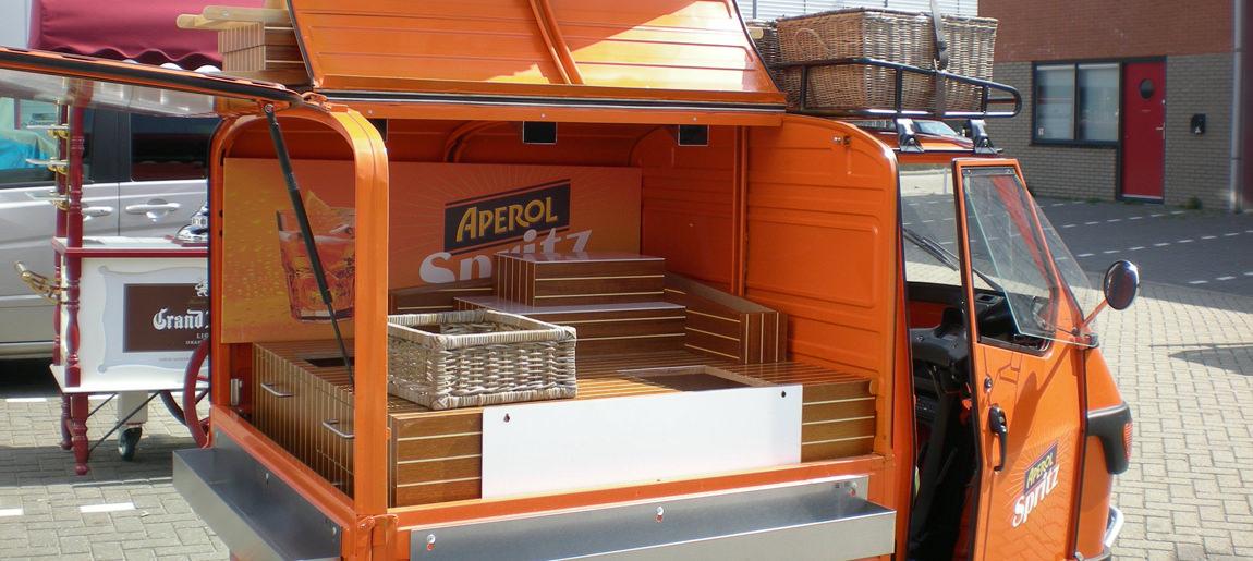 Aperol Brand Activation Custom Event