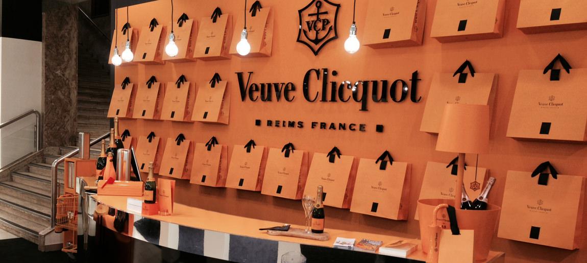 Moët Hennessy Veuve Bijenkorf | decorbouw Custom Event