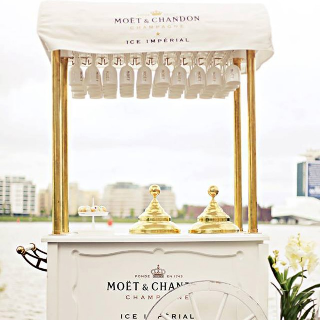 Moët Hennessy Ice Imperial ijskar | Brand Activation Custom Event