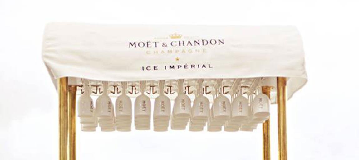 Moët Hennessy Ice Imperial ijskar   Brand Activation Custom Event