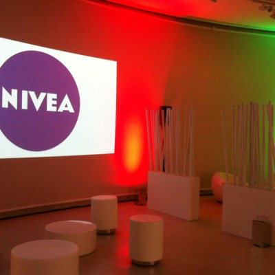 Nivea decorbouw Custom Event