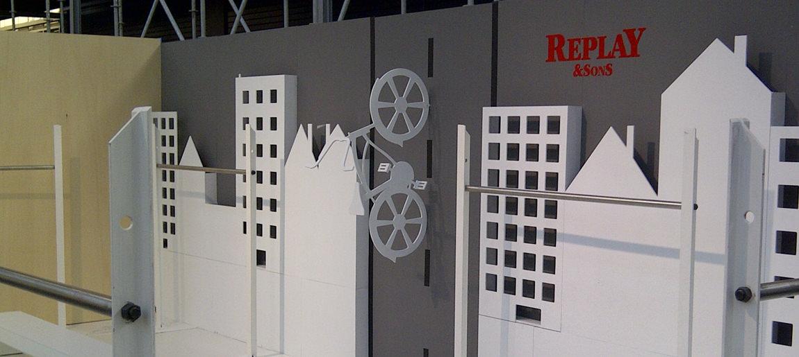 Replay Kleine Fabriek standbouw Custom Event