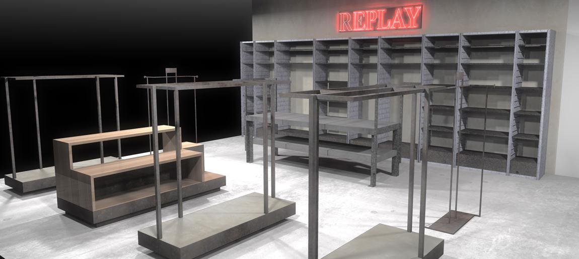 Replay corners V&D interieurbouw Custom Event