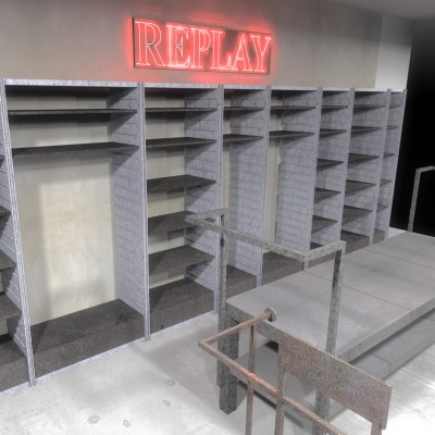 Replay corners V&D interieurbouw Custom Event