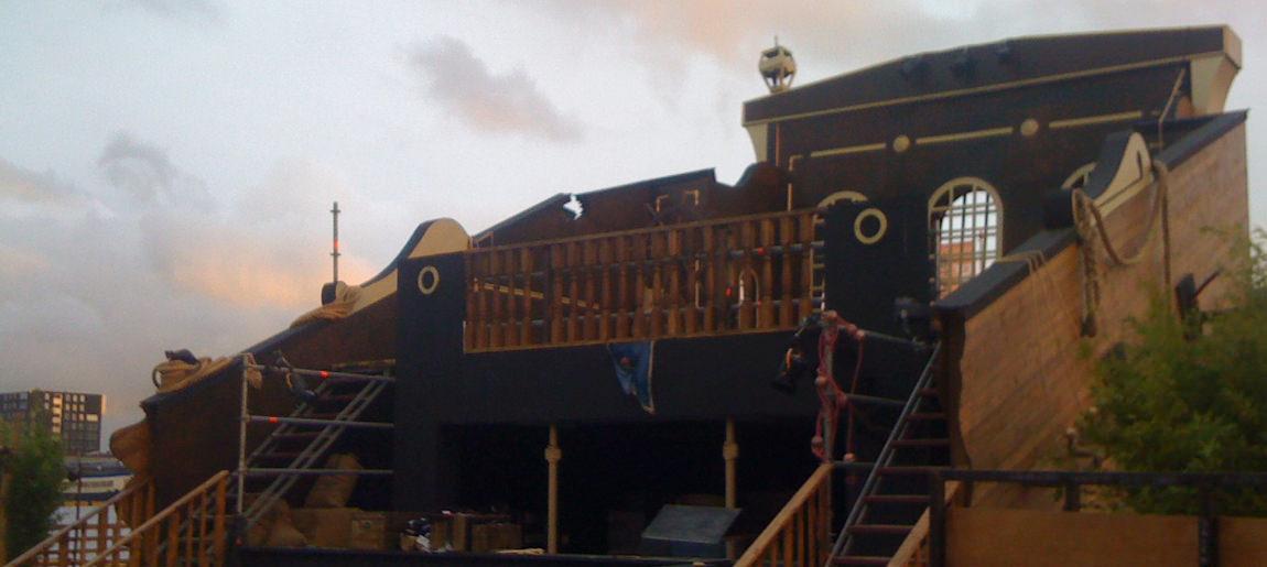 Sail 2010 decorbouw Custom Event