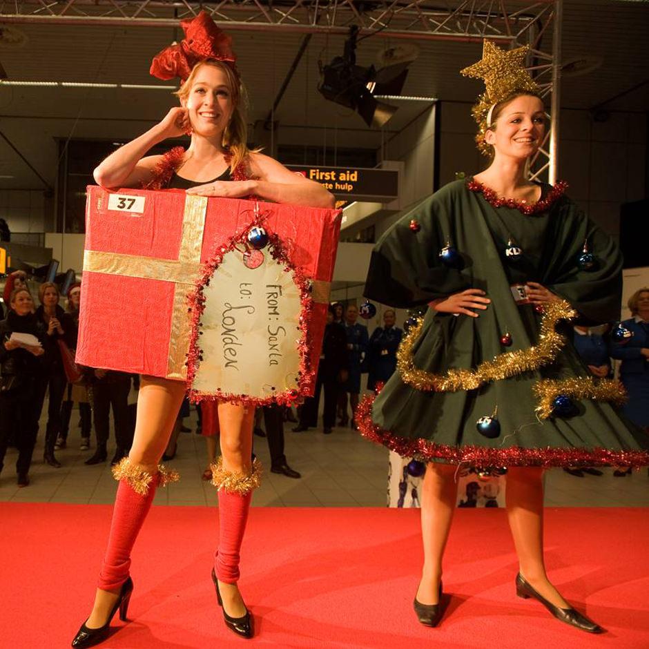 Schiphol catwalkactie Brand activation Custom Event