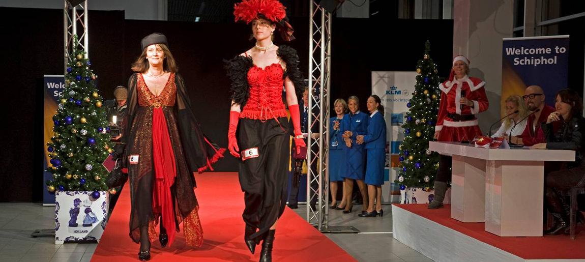 Schiphol catwalkactie brand activtion Custom Event