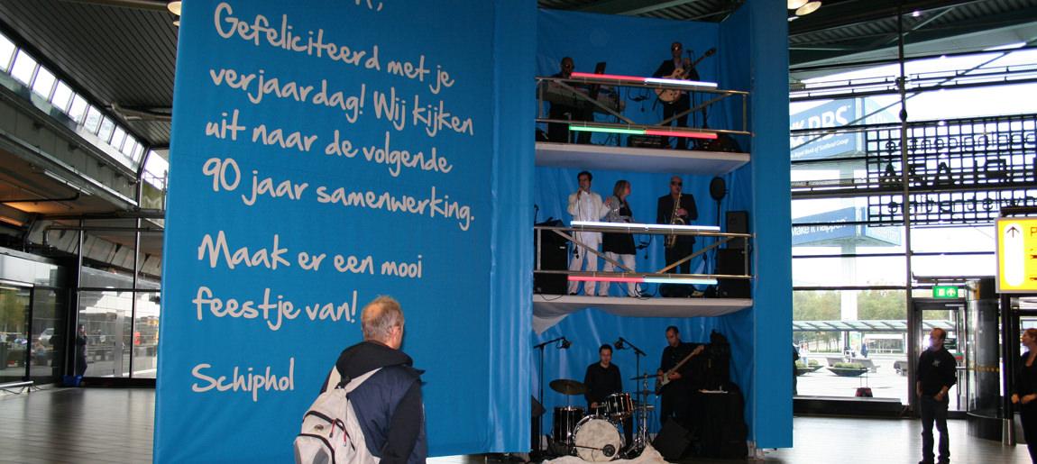 KLM Verjaardagskaart brand activtion Custom Event