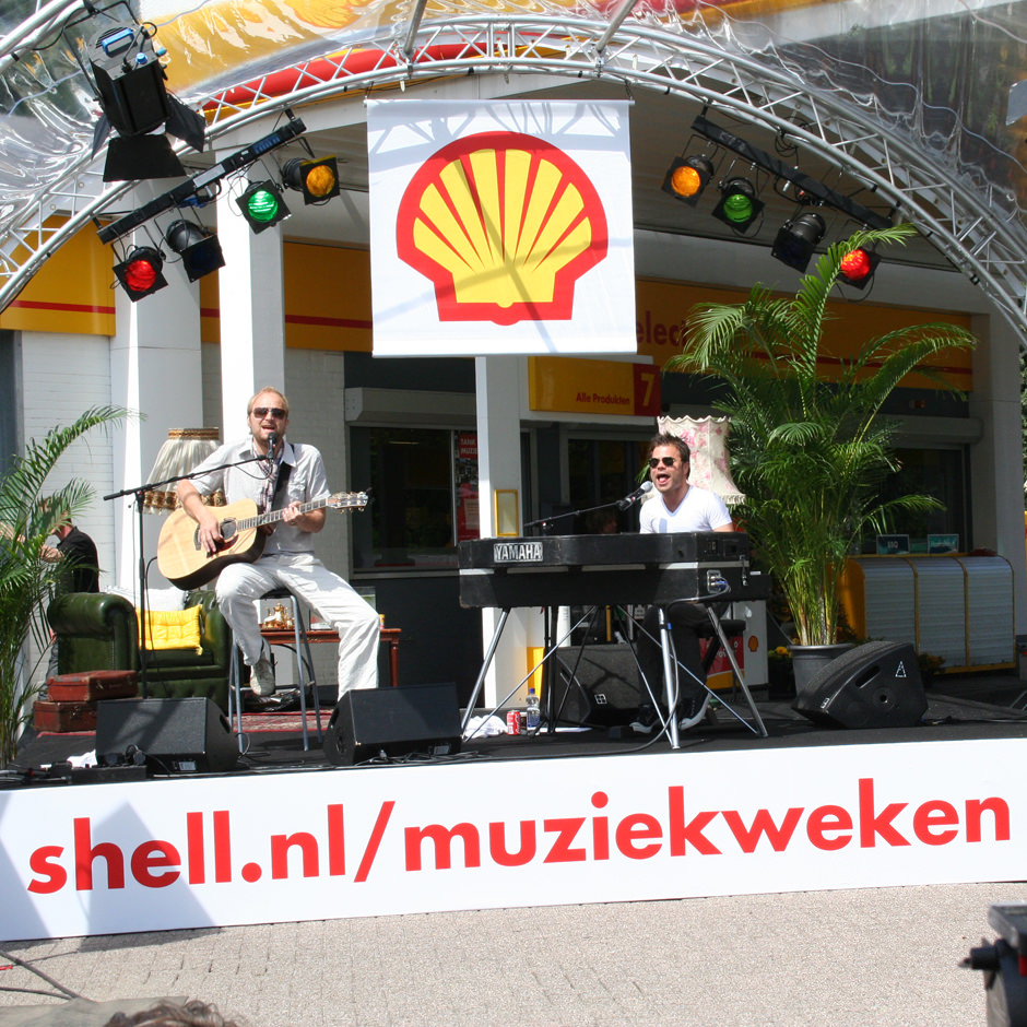 Shell Concerttour brand activation Custom Event