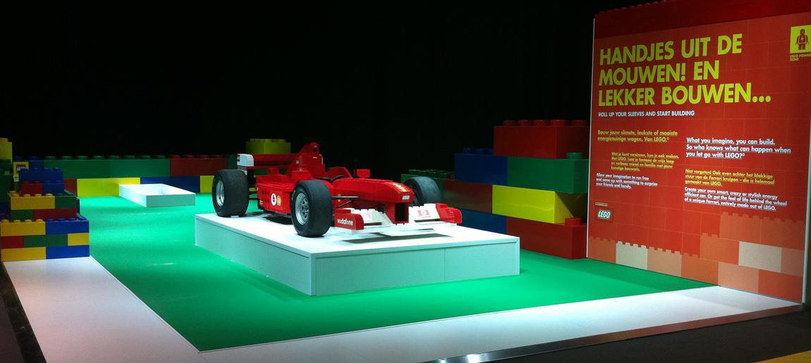 Shell Eco Marathon | standbouw Custom Event