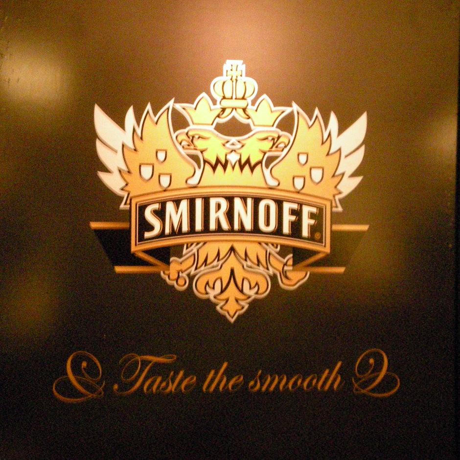 Smirnoff interieurbouw Custom Event