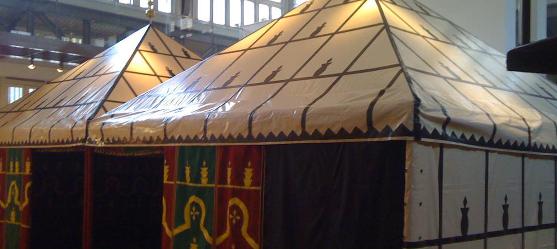 Bibi White Space Bedouine tent decorbouw Custom Event