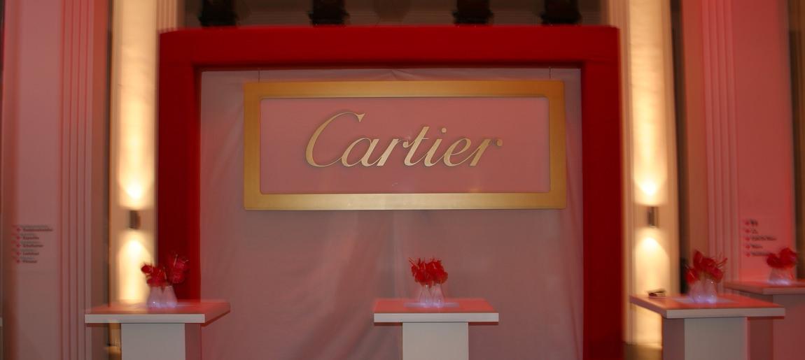 Cartier decorbouw Custom Event