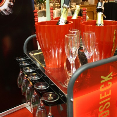 Heidsieck brand activation Custom Event