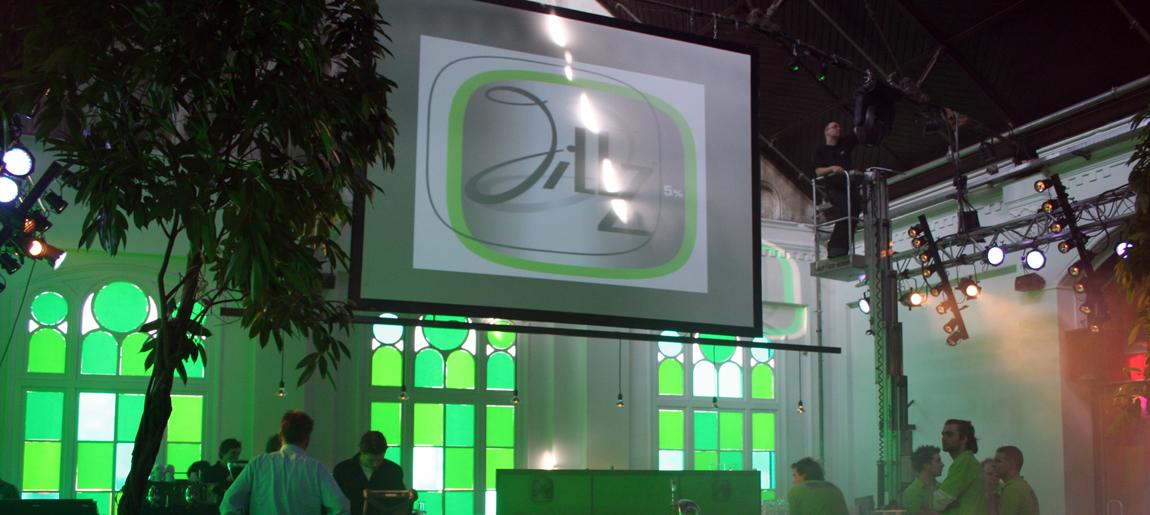 Heineken Jillz decorbouw Custom Event