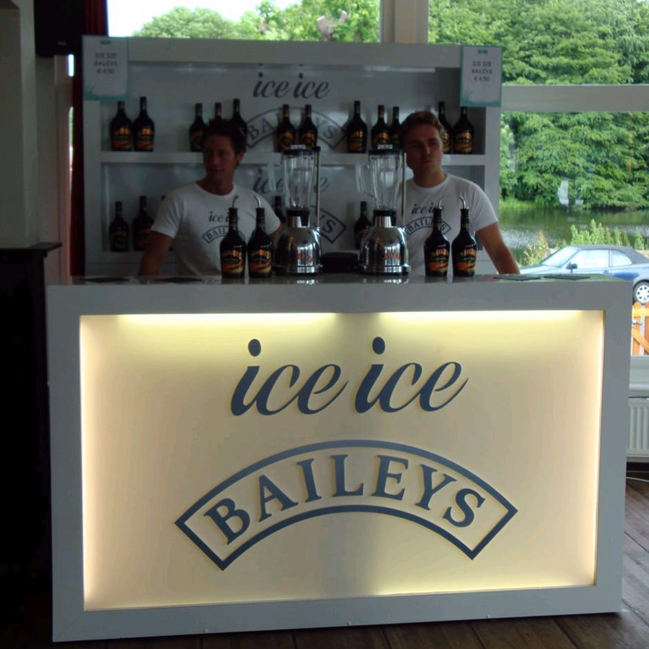 Ice Bailey Brand activation Custom Event