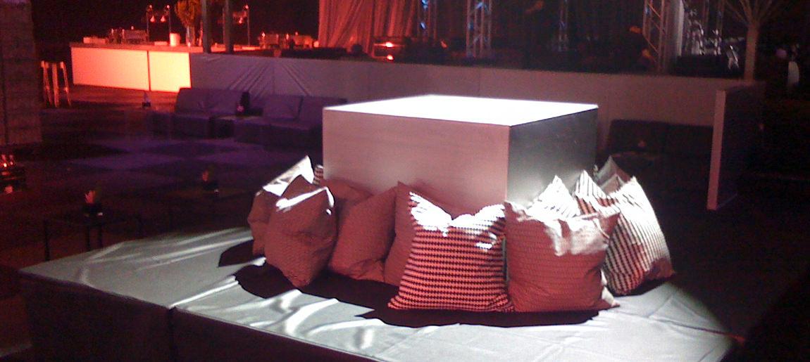 James Bond decorbouw Custom Event