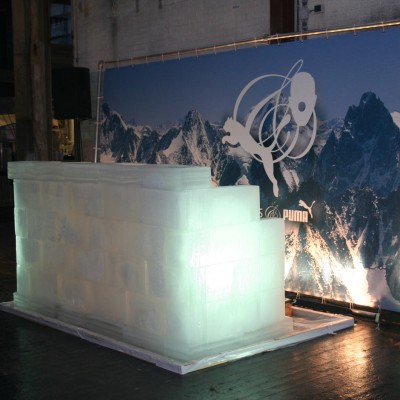 Puma decorbouw Custom Event