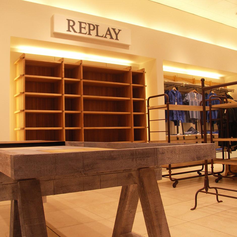 Replay Bijenkorf Eindhoven interierbouw Custom Event