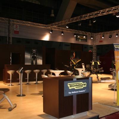 Technogym Brussel standbouw Custom Event