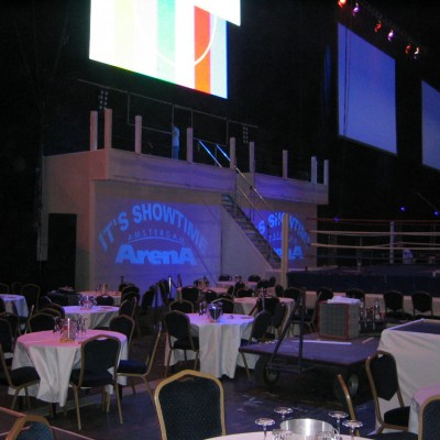 Free Fight Gala decorbouw Custom Event