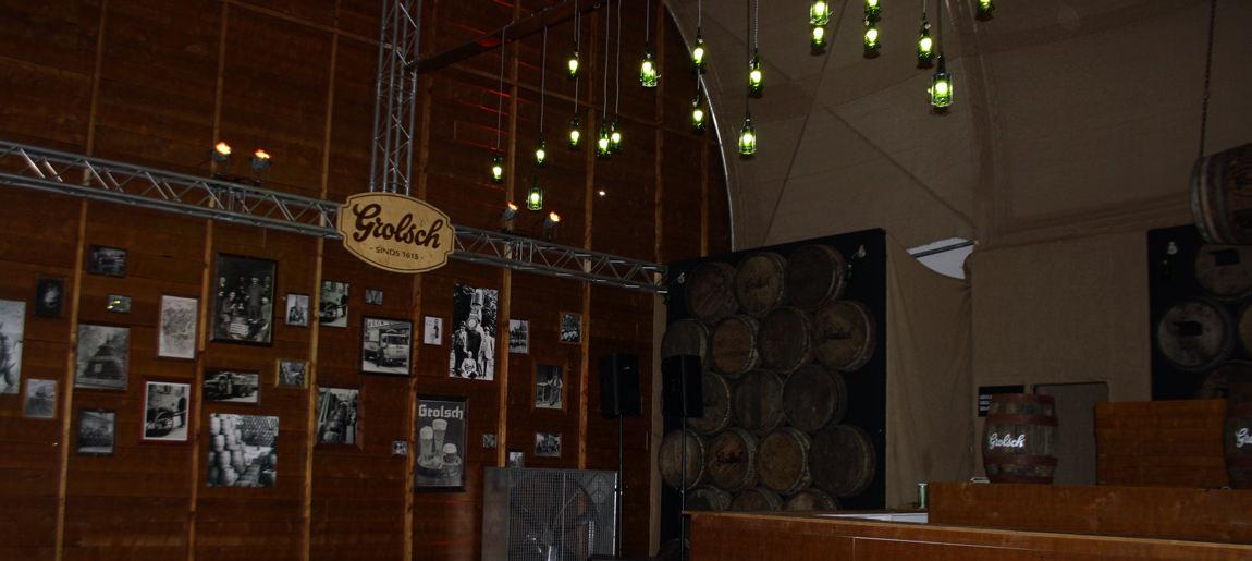 Grolsch Zwarte Cross decorbouw Custom Event
