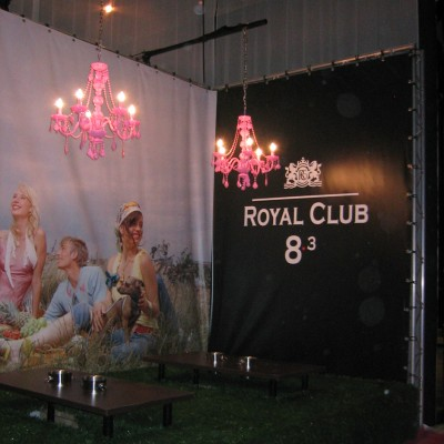 Royal Club | standbouw Custom Event