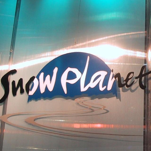 Snowplanet standbouw Custom Event