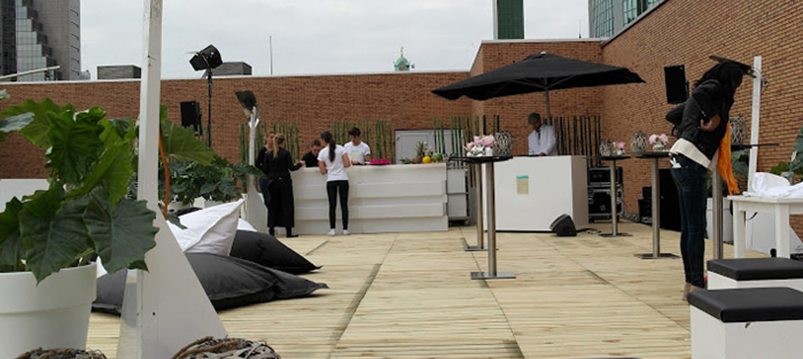 Custom Event Rooftop Party C&A