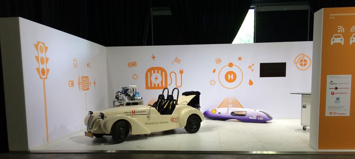 Shell Eco Marathon | decorbouw Custom Event