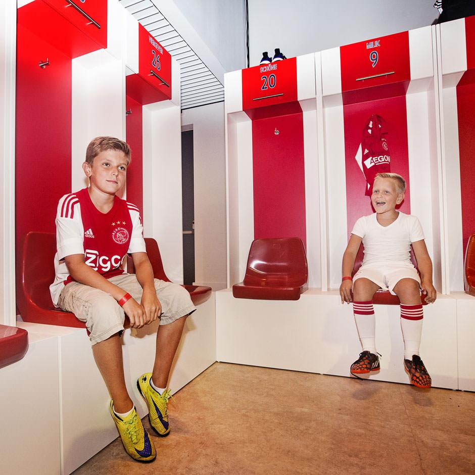 Ajax business Lounge | decorbouw Custom Event