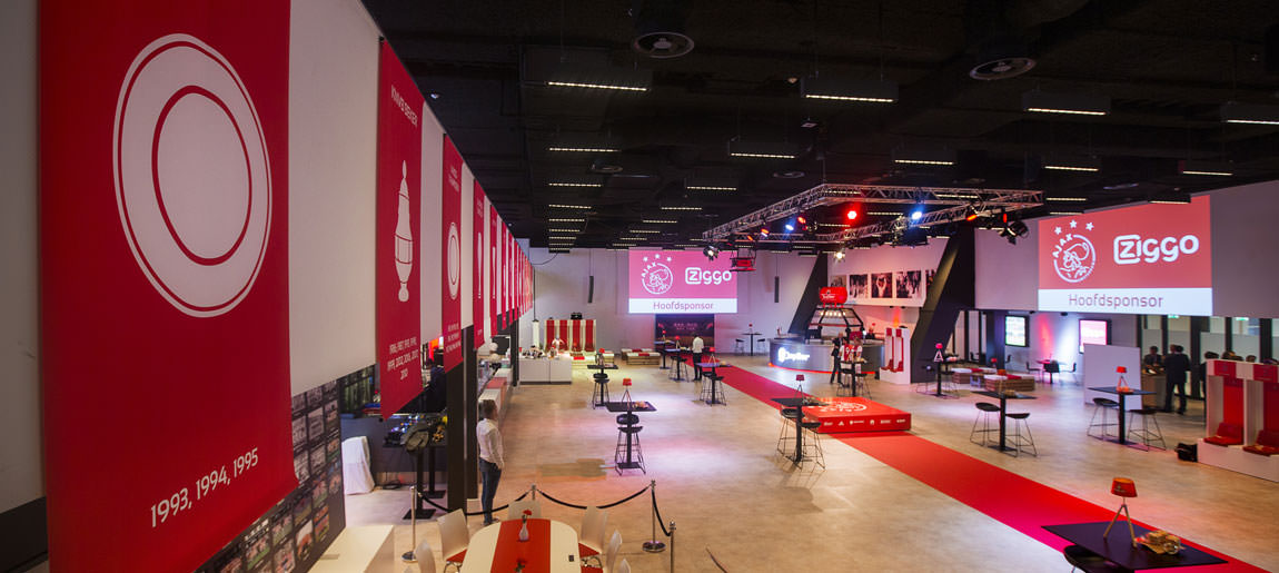 Ajax business Lounge | decorbouw Custom Event