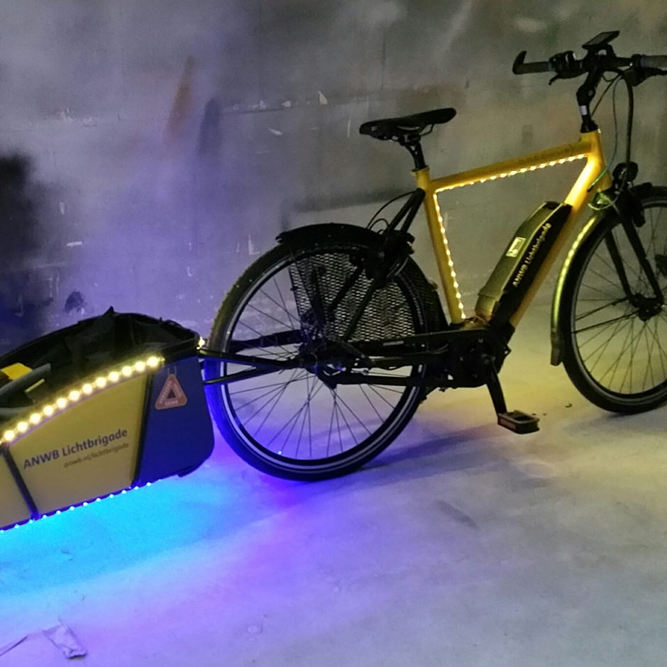 ANWB Nightrider | brand activation Custom Event