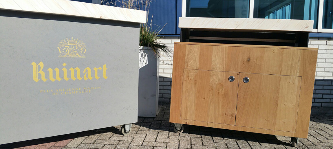 Ruinart bar Moet Hennessy | Brand Activation Custom Event