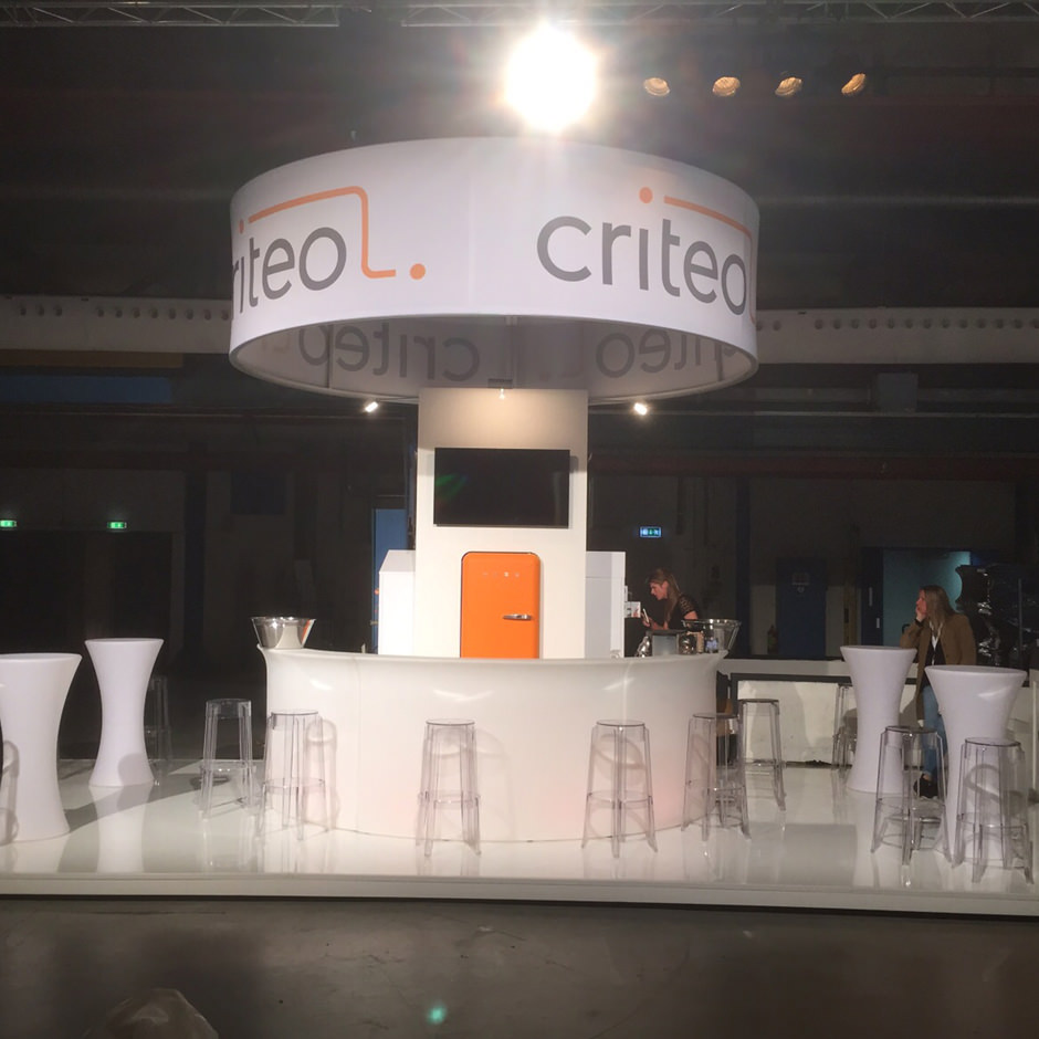 Standbouw Criteo Emerce Eday 2015 | Custom Event