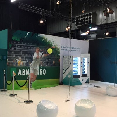 ABN AMRO World Tennis Tournament | brand activation Custom Event