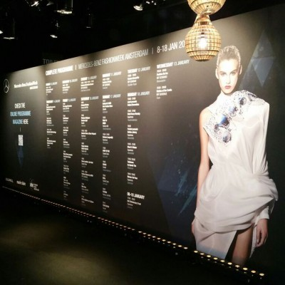 Amsterdam Fashion Week 2016 decorbouw Custom Event