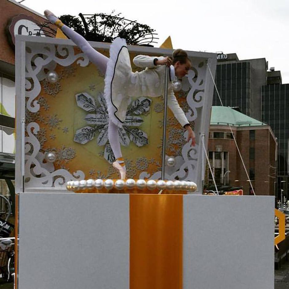 Bijenkorf decorbouw Custom Event
