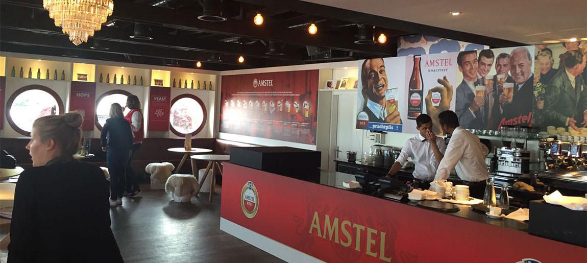 Custom Event decorbouw Amstel Zürich