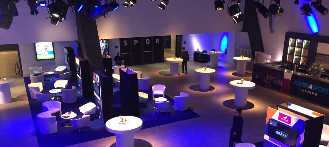 Aspire4sport decorbouw | Custom Event