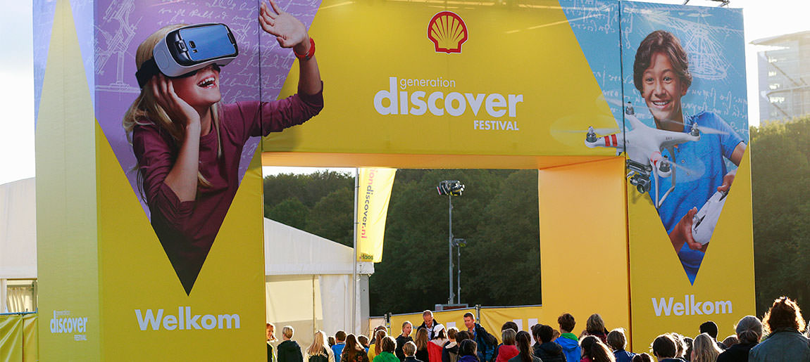 Shell Generation Discover Festival | decorbouw Custom Event