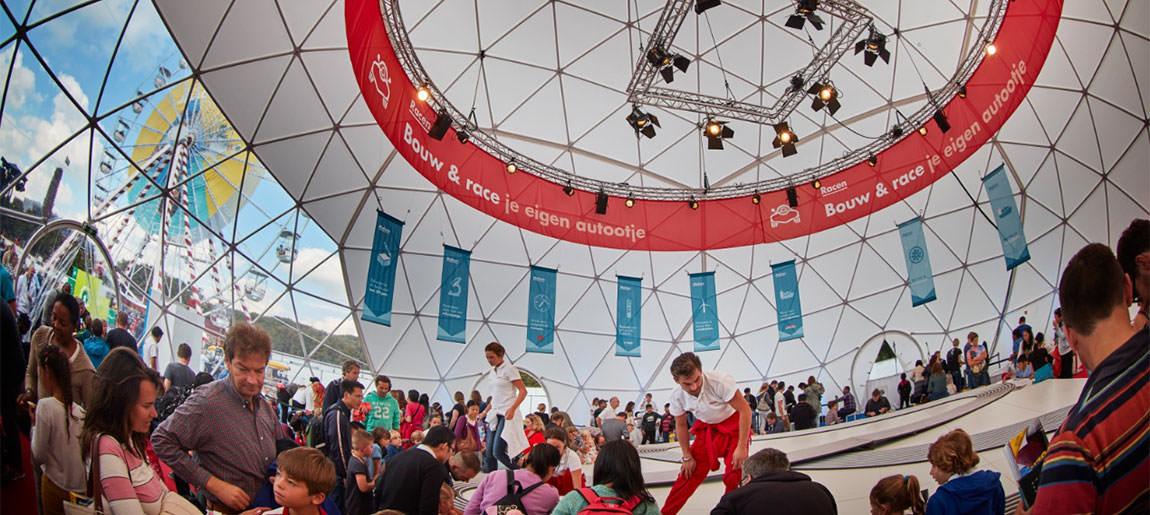 Shell Generation Discover Festival   decorbouw Custom Event