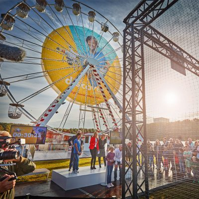 Shell Generation Discover Festival | decorbouw Custom Event