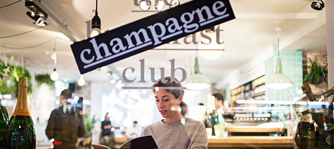 Champagne Club decorbouw Custom Event