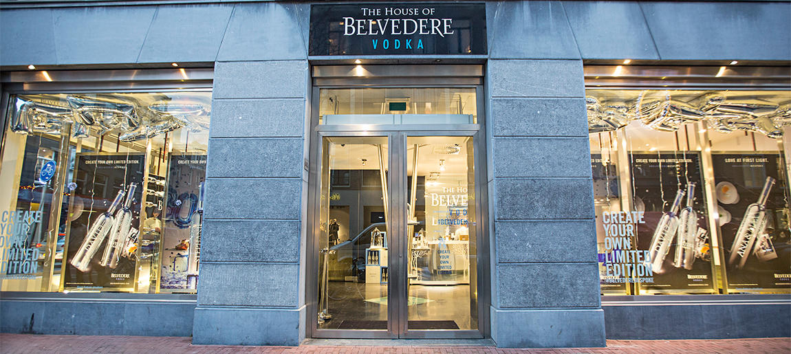 House of Belvedere Amsterdam decorbouw Custom Event