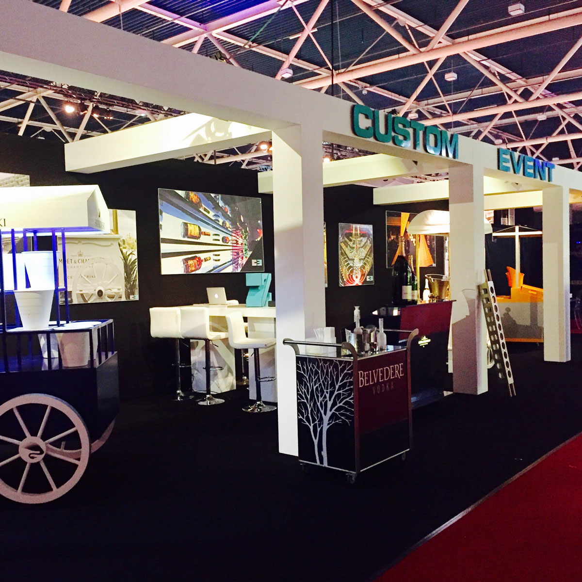 Custom Event standbouw interieur brand activation